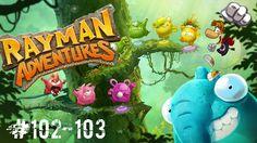 rayman adventures walkthrough android (adventures 102-103)
