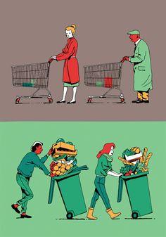 Génération Végétale by Vincent Mahé, via Behance