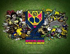 Ilustración • 96 años del Club América