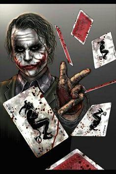 The Joker Batman: The Dark Knight #movie #batman #games