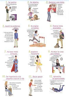 20 claves para motivar y ser positivo (hay 2 imágenes).