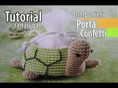 Tutorial bomboniere Cestino Tartaruga Uncinetto (Crochet) 1.6, My Crafts and DIY Projects