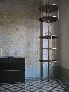 This bookcase is absolutely stunning: Libreria Voliera design by Pietro Russo