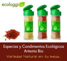 NOVEDADES!! Este mes os traemos como Novedad las Especias y Condimentos Ecológicos de ArtemisBio.