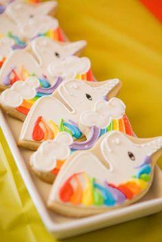 rainbows, unicorns, 80's Birthday Party Ideas | Photo 19 of 48 | Catch My Party