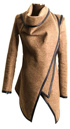 2cbf107acce43 Hzoioys Autumn and Winter Coat Women Long Cashmere Overcoats Woman Trench  Wool Coats Fur Manteau Abrigos Mujer Plus Size