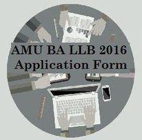 AMU BA LLB 2016 Application Form