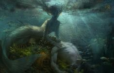 Myths & Monsters, Underwater, Fantasy Art, Whale, Texture, Artwork, Painting, Animals, Twitter