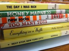 In preparation for National Poetry Month, I made a new book spine poem.