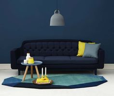 51 living room interior ideas - Normann Copenhagen onkel sofa