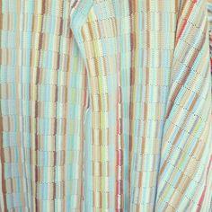 ByHaafner, crochet, jet, bandes de bonneterie, pastel, aqua, ocre