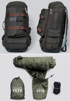 VSTR Nomadic Pack at werd.com http://www.campingquartermaster.us/