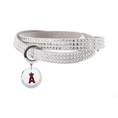 Los Angeles Angels of Anaheim Swarovski Home Run Bracelet, $90.00 http://shareasale.com/m-pr.cfm?merchantid=62865&userid=646297&productid=637743152&afftrack=