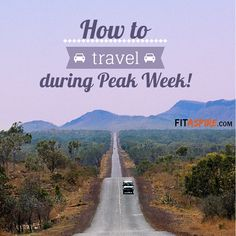 How to Travel the Week of Competition