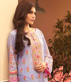 Sapphire Cambric Suits Collection 2015 Blossom Orchid B