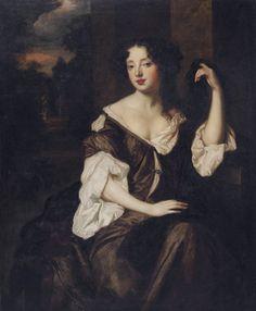 Louise de Kérouaille (1649-1734) by Peter Lely