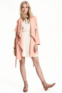 Abrigo en mezcla de lyocell   H&M