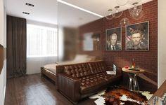 лофт в однокомнатной квартире - Поиск в Google