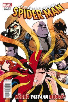 Hämähäkkimies - Spider-Man nro 1/2015. #sarjakuva #sarjakuvalehti #sarjis #egmont #marvel