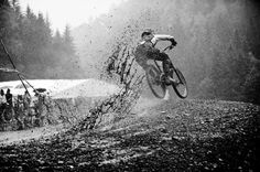 This takes bike racing to a whole other level !