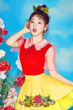 OH MY GIRL 4th Mini Album [Coloring Book] Coming Soon 2017.04.03 #OHMYGIRL #오마이걸 #OMG #컬러링북 #ColoringBook #Comeback #Seunghee