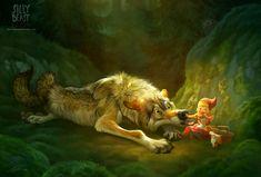 """""""Little Red Riding Hood"""" by ailah.deviantart.com on @deviantART"""