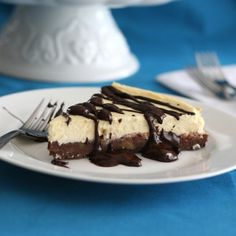 Brownie Cheesecake - Low Carb and Gluten-Free