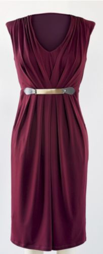 PLUS SIZE Pleat Front Dress from Monroe and Main 1X 2X 3X