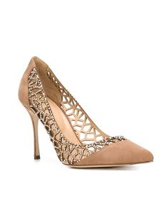 Sergio Rossi cut-out pumps