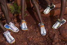 The Pharrell Williams x adidas Solarhu Collection features three Afro Hu  NMDs and two Afro Tennis Hu colorways. The sneakers release on August c6a5342c6ea