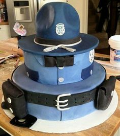 Cop cake. If we were doing a groom's cake this would be great for Francis