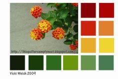 Color Palette - Belvie's Flowers