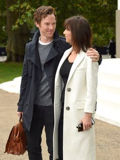 Pin for Later: 22 Pictures of Benedict Cumberbatch and Sophie Hunter's Most Loved-Up Moments