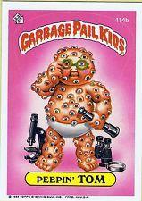 Garbage Pail Kids 3rd Series #114b Peepin' Tom with Copyright