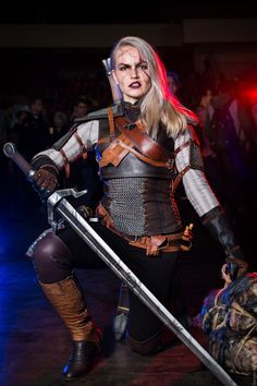 This is my female cosplay of Geralt of Rivia) My favorite character and man of my dreams))   #avaexpo2016 #avaexpo #cosplay #witcher #witcher3 #geralt #fem #cirilla #geekgirl #girls #game #witchercosplay #wildhunt #geraltcosplay #geraltofrivia #yennefer #triss #trisscosplay #ciri #ciricosplay #gwent#wiedzmin #wiedzmin3