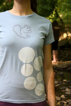 Squirrel T-Shirt by flytrap on Etsy