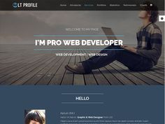 Free Profile Templates At Bakery Is Responsive Bakery Joomla Template That Targets For .