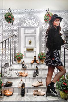 Clarks   Autumn/Winter, 2013 by Millington Associates   #windowdisplay #visualmerchandising