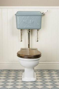 #トイレ Low Level Cistern - Catchpole & Rye