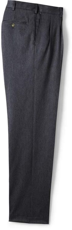 Try our Men's Big & Tall Traditional Fit Pleat No Iron Twill Dress Trouser at Lands' End. Tall Pants, Mens Big And Tall, Lands End, Dress Pants, Iron, Zipper, Traditional, Fitness, Skirts