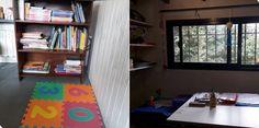 Carla Valicenti 🖤 #JusticiaParaSheila. En casa estamos terminando de acondicionar nuestro escritorio. El rincón de mi hija está más avanzado, lo van a notar. Ahí van dos imágenes  Twitter, Early Childhood, Daughter, Desktop, Reading, Art