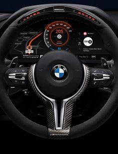 BMW Car Dashboard Design on Behance
