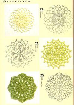 Motifs & Edgings 200 №7174 (Узоры из мотивов крючком) - Tayrin 3 - Picasa Web Albums