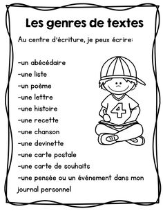 FRENCH writing center/ Centre d'écriture Affiches et outils French Teaching Resources, Teaching French, Teaching Writing, Word Work Activities, Writing Activities, Writing Centers, French Articles, French Education, Core French