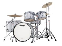 Ludwig Legacy in Silver Sparkle  www.ludwig-drums.com