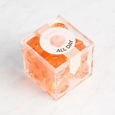 Can't get enough Rosé? This gummy is for you! Sugarfina's Rosé Gummies feature exclusive packaging just for Paper Source. Made with Whispering Angel Rosé. Item will vary between rose shaped or bear shaped gummies. Will You Be My Bridesmaid Gifts, Bridesmaid Gift Boxes, Groomsmen Gift Box, Groomsman Gifts, Groomsmen Presents, 2nd Anniversary Gifts, Presents For Friends, Paper Source, Beautiful Gifts