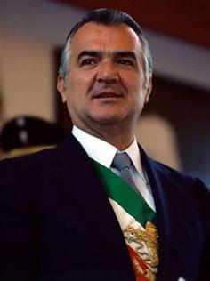 Miguel de la Madrid Hurtado, Presidente de México (1982-1988).