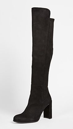 8d2f209bc43bdb Stuart Weitzman All Jill Knee High Boots Black Heel Boots