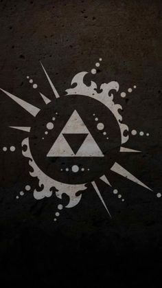 The Legend of Zelda - The Triforce wallpaper The Legend Of Zelda, Legend Of Zelda Tattoos, Legend Of Zelda Breath, Android Wallpaper Anime, Mobile Wallpaper, Tatoo Geek, Zelda Logo, Link Zelda, Wind Waker