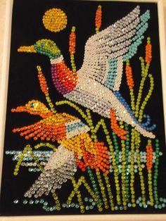 Dot Art Painting, Mandala Painting, Cartoon Birds, Diamond Art, Palestine, Ribbon Embroidery, Bead Art, Projects To Try, Arts And Crafts